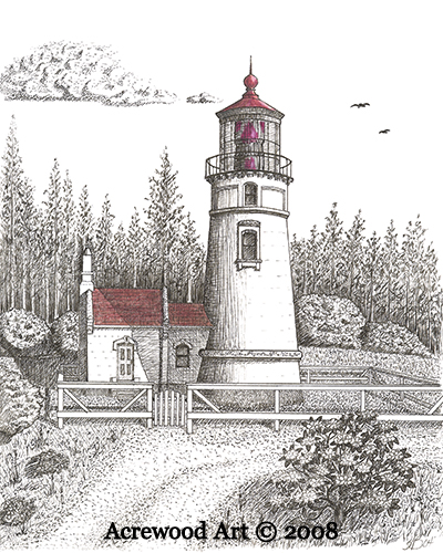 Umpqua River Lighthouse Umpqua River Lighthouse From